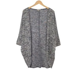 ROLLA COSTER | Gray Marled Open Weave Cardigan